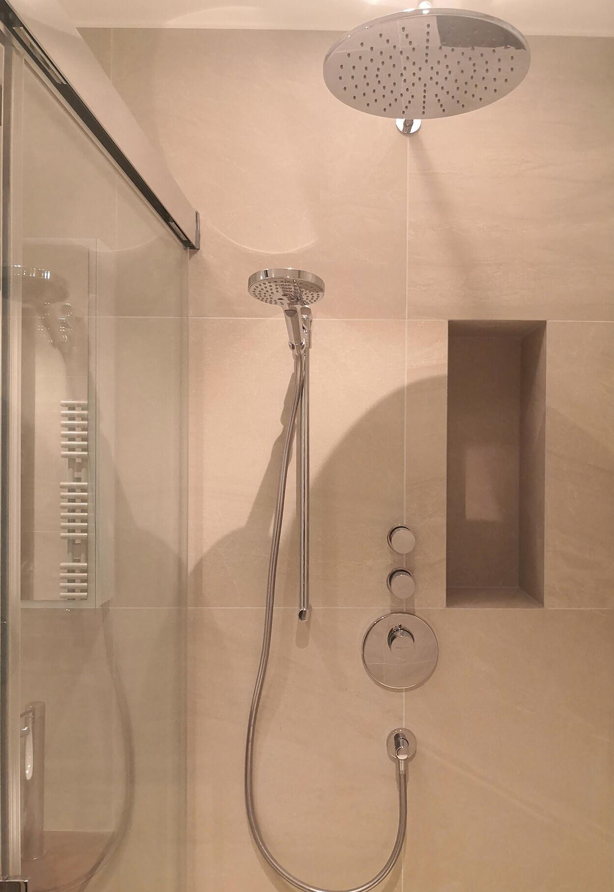 Douches |Mousquines à Lausanne |BM Sanitaire