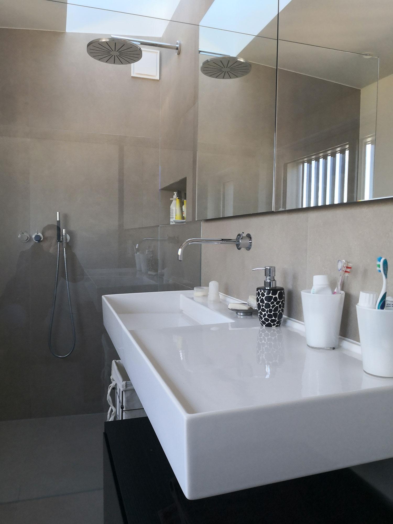 Salle de bain à Lutry  Maison de maître