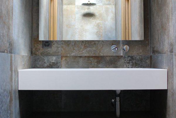 Salle de bain maison Bleue |BM Sanitaire