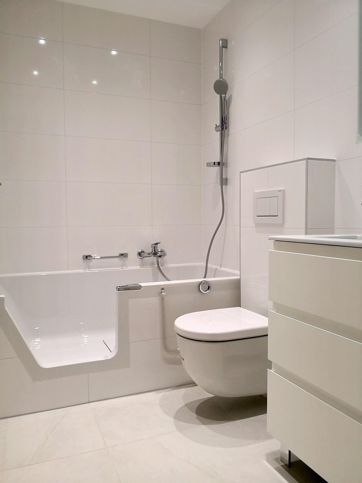 Toilettes   Appartement à Morges  BM Sanitaire